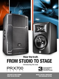 JBL PRX700 and Series3
